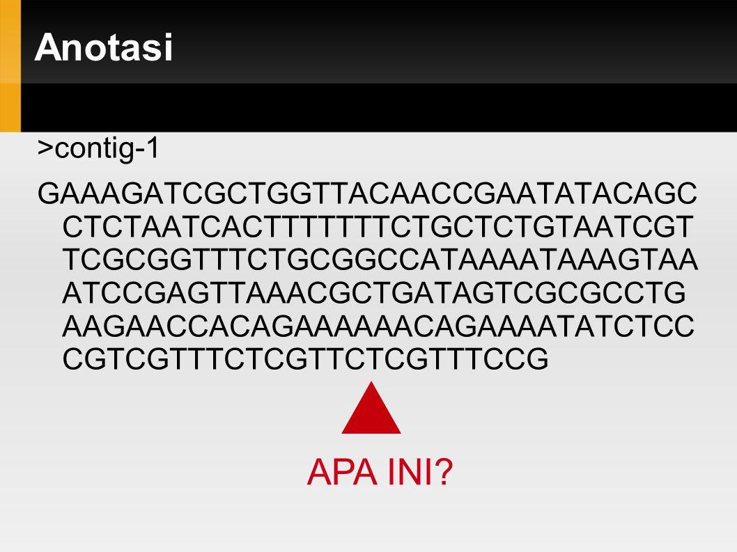 Anotasi >gi|359806297Glycine max protein HEADING DATE 3A-like (LOC100815541) ATGGACCCTCTTGTCATTGGACGTGTAGTAGG AGATGTTTTGGAGCCTTTCACTAGTTGCGTC TCTCTTA FEATURES Location/Qualifiers source 1..522 /organism= Glycine max /chromosome= 18 gene 9..122 /note= protein HEADING DATE 3A-like