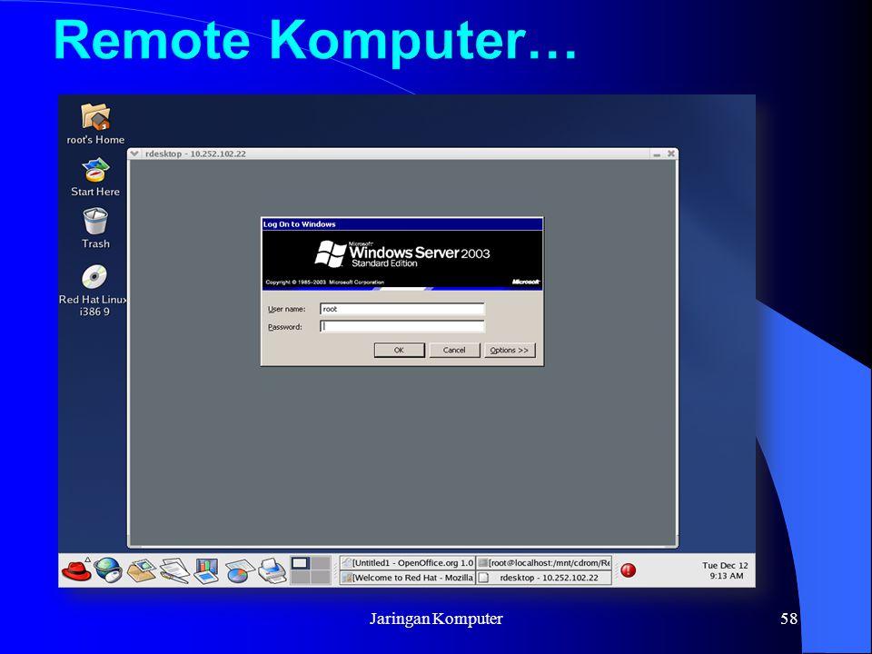 Jaringan Komputer58