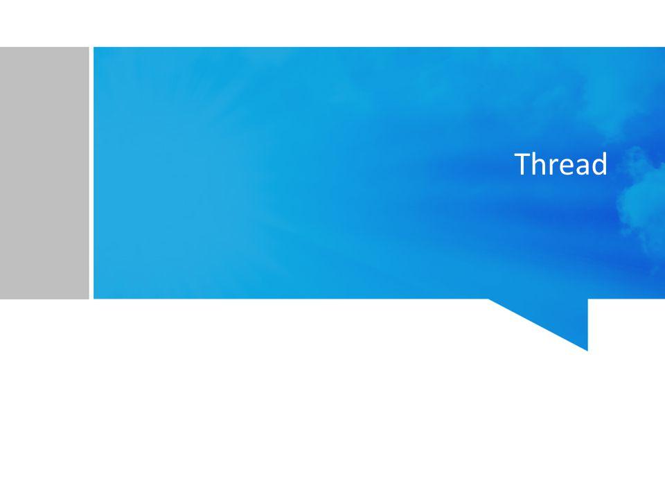 Model One-to-One Satu user-thread dipetakan ke satu kernel-thread Pembuatan satu user-thread = Pembuatan satu kernel-thread Kelebihan –Satu thread blocking tidak akan berpengaruh ke thread lain –Multithread dapat dijalankan secara parallel pada sistem multicore Kelemahan –Jumlah user-thread yang bisa dibuat terbatas Pembuatan kernel-thread dapat membebani performa Contoh : Windows, Linux