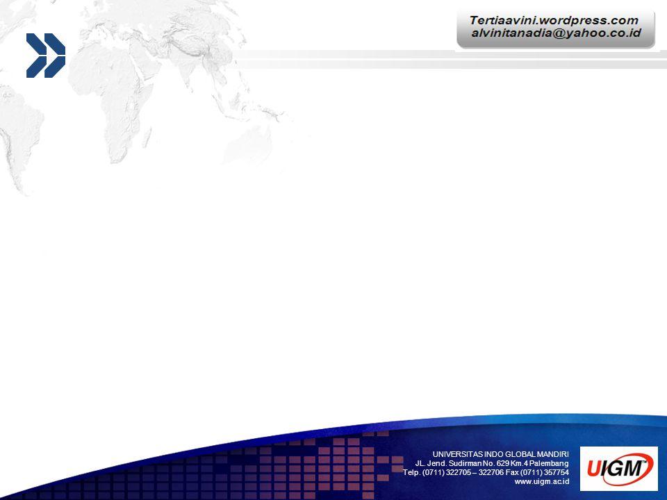 Add your company slogan LOGO UNIVERSITAS INDO GLOBAL MANDIRI JL.