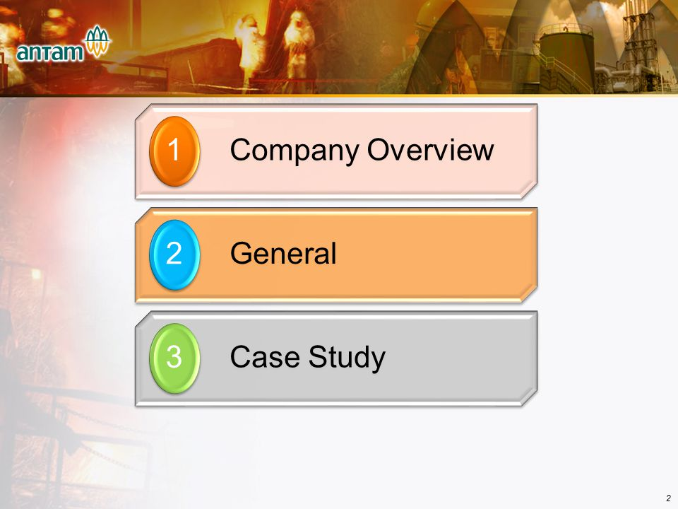 Company Overview  ANTAM At A Glance  Unit Operation  Exploration Overview  Summary of Development Projects 1