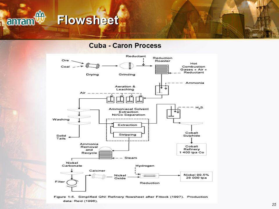 25 Flowsheet Cuba - Caron Process
