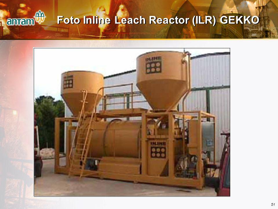 51 Foto Inline Leach Reactor (ILR) GEKKO