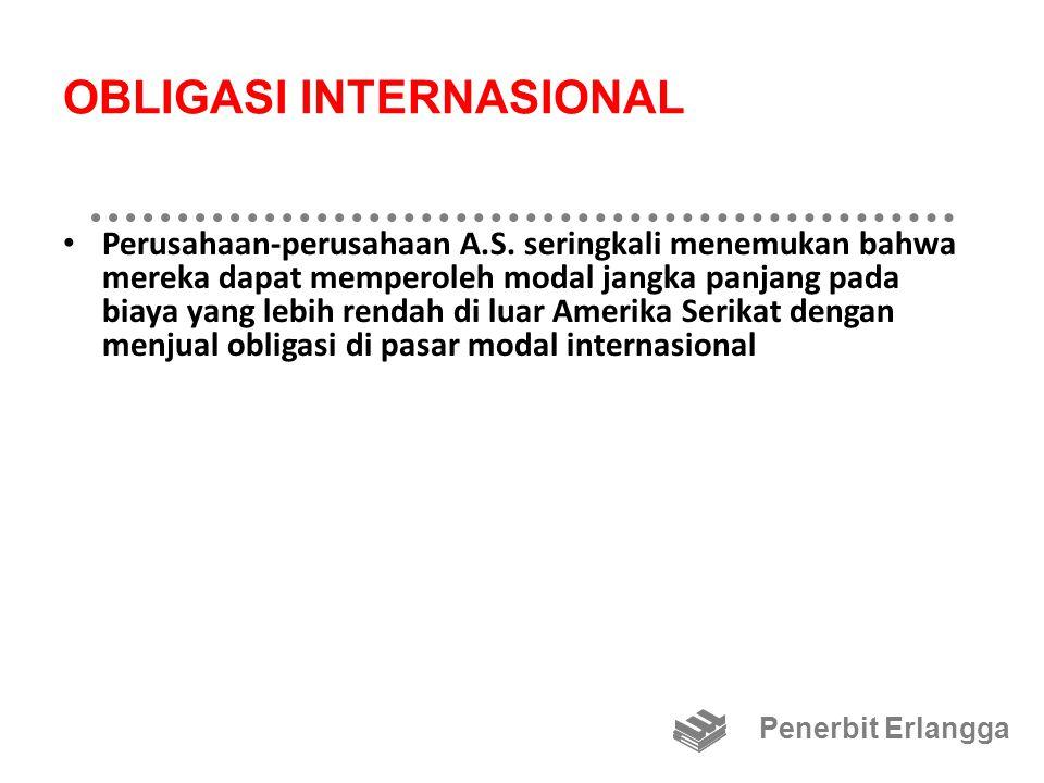 OBLIGASI INTERNASIONAL Perusahaan-perusahaan A.S.