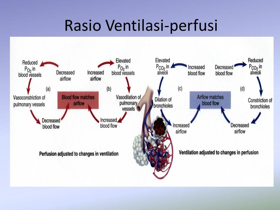 Rasio Ventilasi-perfusi
