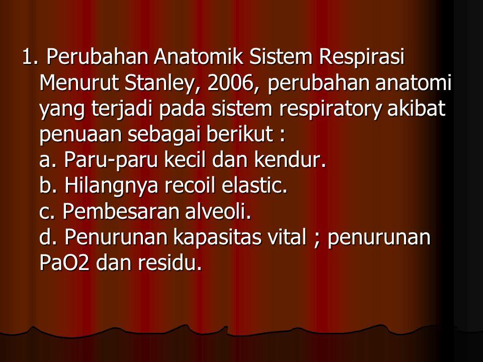 e.Pengerasan bronkus dengan peningkatan resistensi.