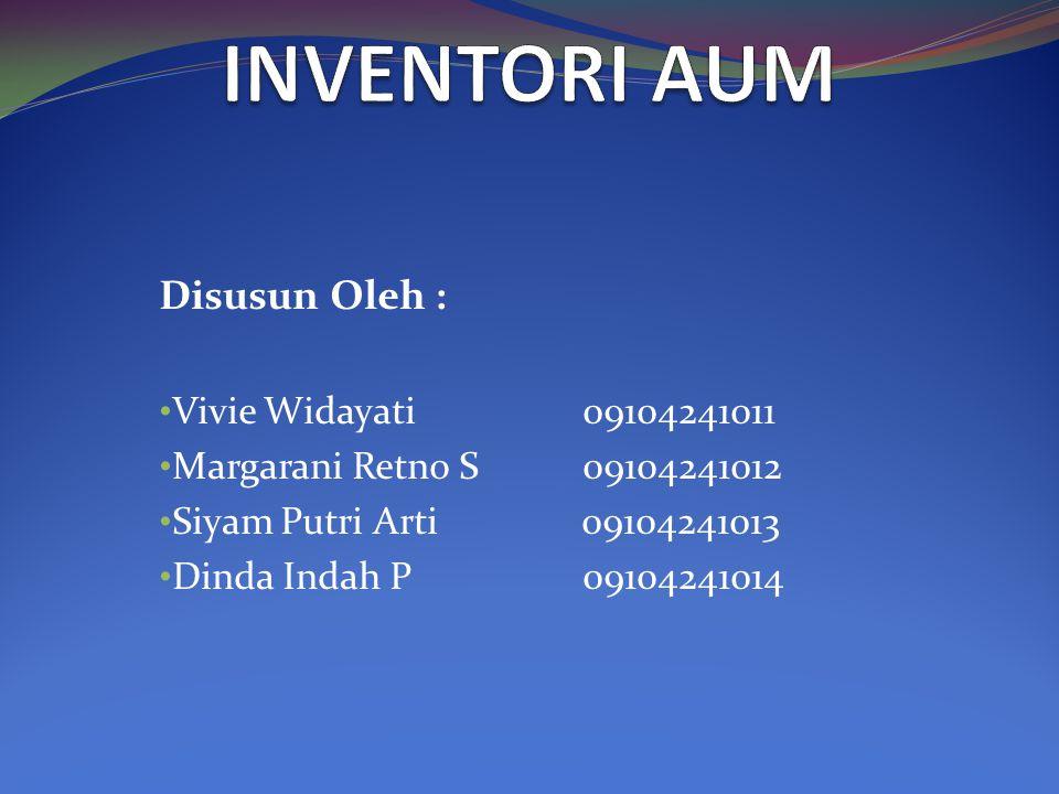 Disusun Oleh : Vivie Widayati 09104241011 Margarani Retno S 09104241012 Siyam Putri Arti 09104241013 Dinda Indah P 09104241014