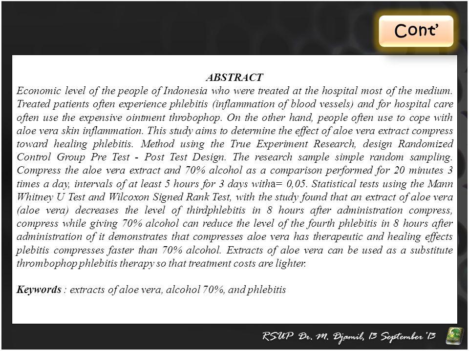 Cont' RSUP Dr.M.