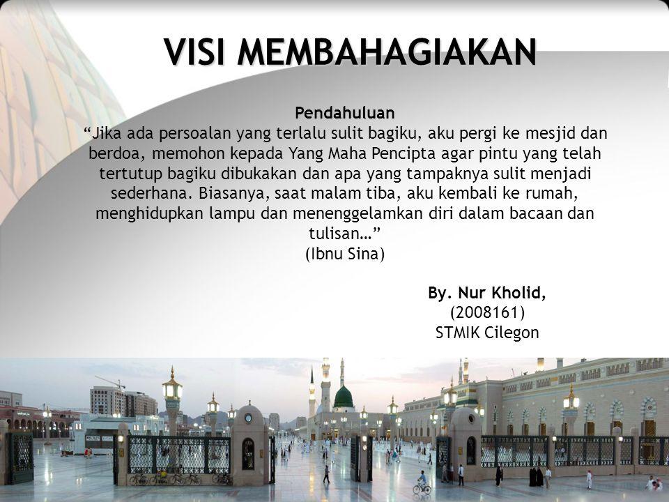 VISI MEMBAHAGIAKAN By.