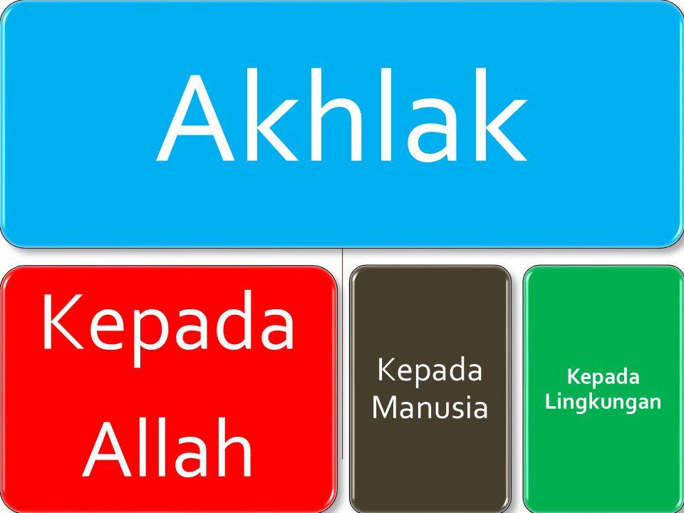 Akhlak Kepada Allah Beribadah Berdo'a Tawaduk