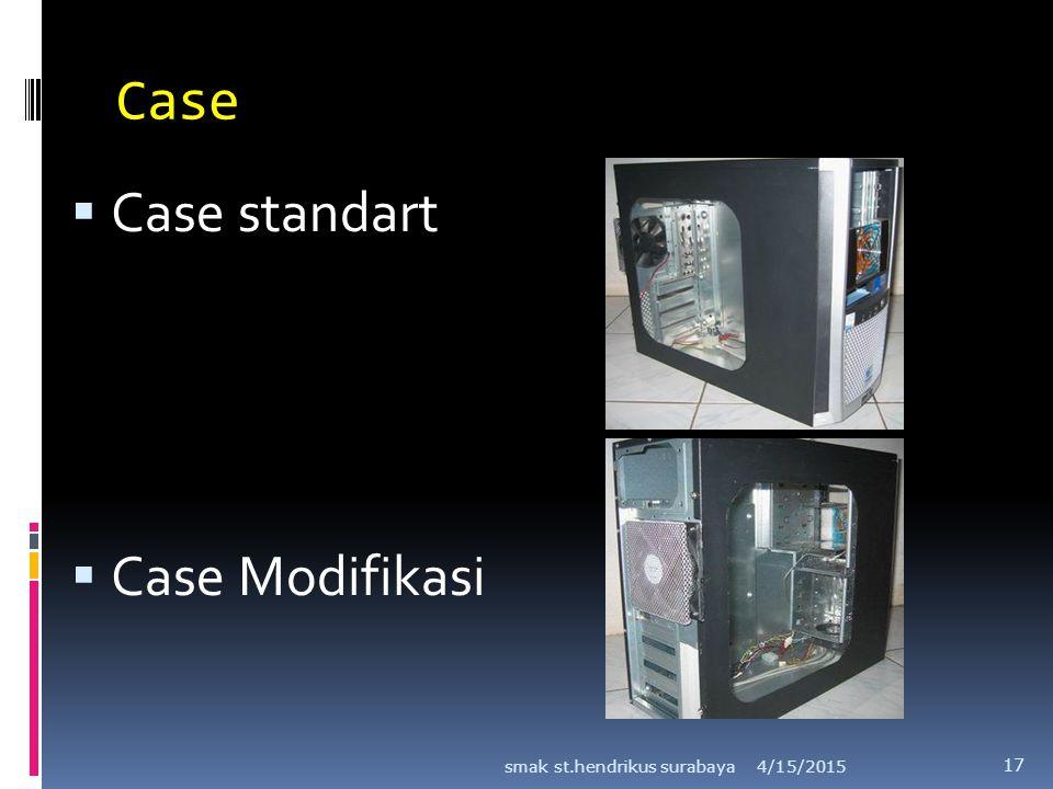 Case  Case standart  Case Modifikasi 4/15/2015smak st.hendrikus surabaya 17