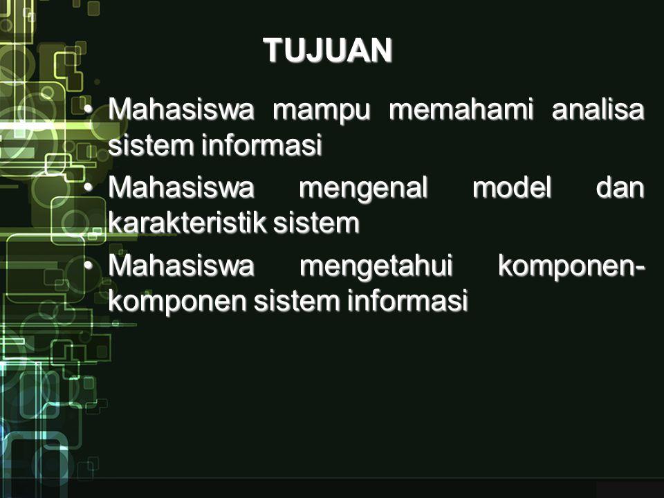 KLASIFIKASI SISTEM Sistem alamiah : merupakan sistem yang terjadi secara alamiah dan tidak diproses oleh manusia dan terbentuk dari kejadian-kejadian alam.