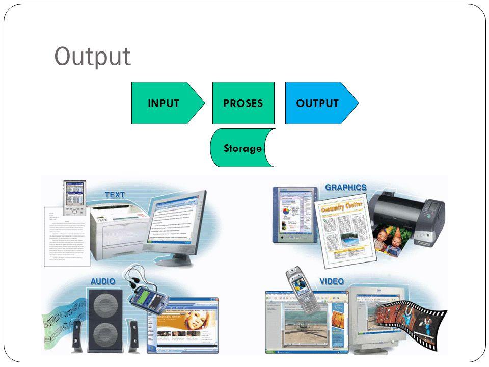 Output INPUTPROSES Storage OUTPUT