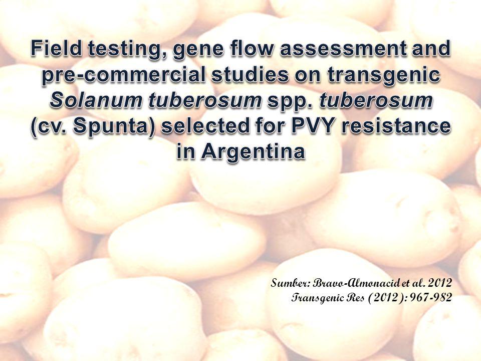 Sumber: Bravo-Almonacid et al. 2012 Transgenic Res (2012): 967-982