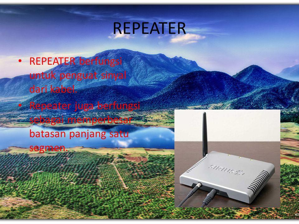 Router dapat berupa Hardware maupun sofware: 1.Router hardware, contohnya Cisco, Juniper, 3COM dan sebagainya. 2.PC Based Router, menggunakan PC sebag