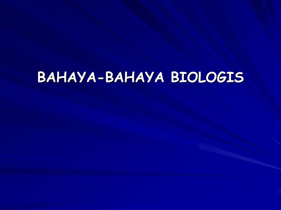 Listeria monocytogenes Sumber: -sayuran, keju lunak, daging -tanah,air Pengendalian:- sanitasi dan higiene - HACCP Salmonella sp Sumber : saluran pencernaan hewan