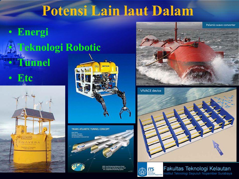 Potensi Lain laut Dalam Energi Teknologi Robotic Tunnel Etc