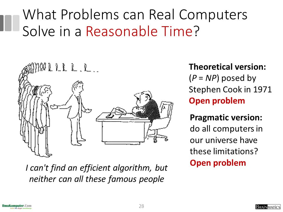 What Problems can Real Computers Solve in a Reasonable Time.