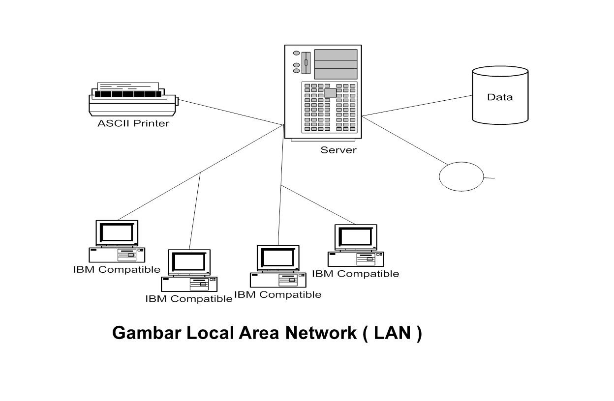 Gambar Local Area Network ( LAN )‏
