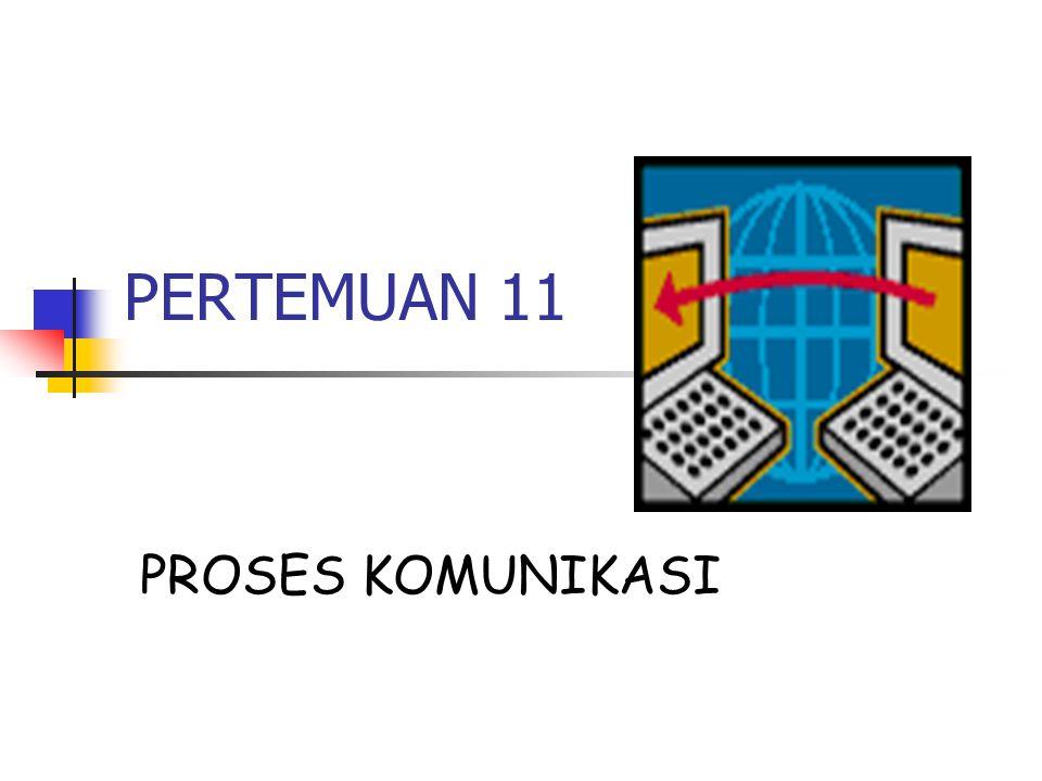 PERTEMUAN 11 PROSES KOMUNIKASI