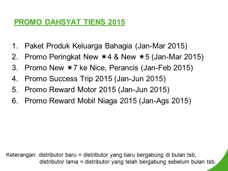 4. PROMO SUCCESS TRIP 2015 (Jan-Jun 2015)