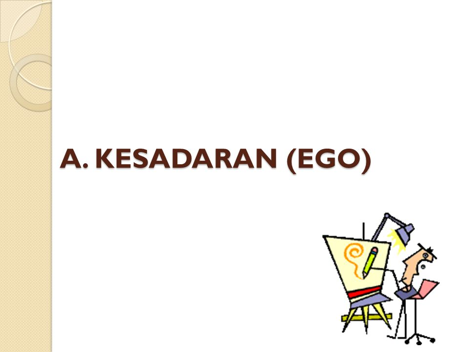 A. KESADARAN (EGO)