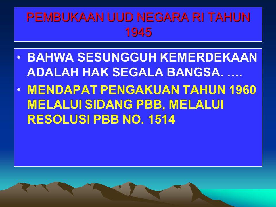 ADA GETAR TERSENDIRI KETIKA MENDENGAR NAMA INDONESIA DISEBUT GN TEGAS DI RUANG-RUANG TERHORMAT & FORUM INTERNASIONAL ADA RASA BANGGA KETIKA MENDENGAR