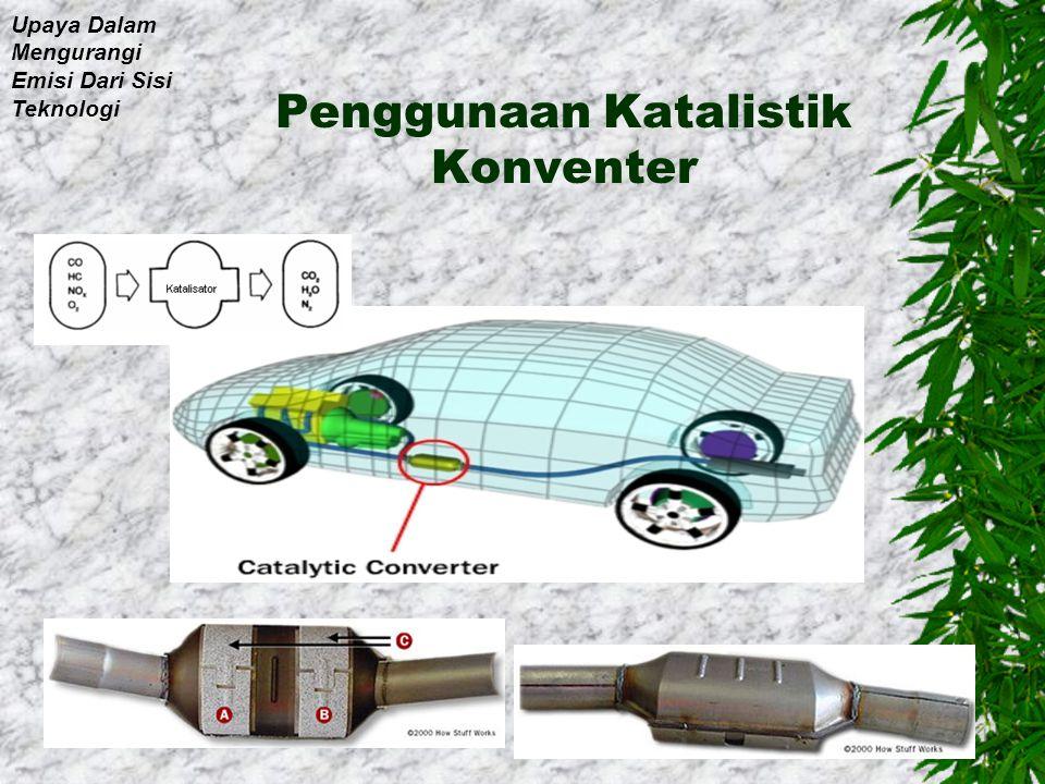 Penggunaan Mesin Hybrit Upaya Dalam Mengurangi Emisi Dari Sisi Teknologi
