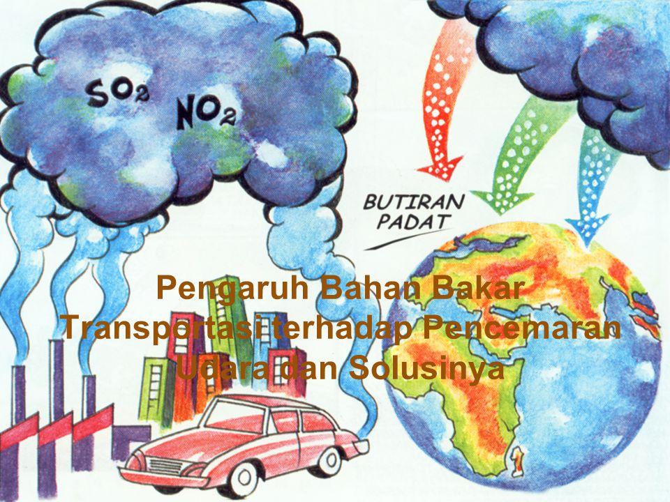 Pengaruh Bahan Bakar Transportasi terhadap Pencemaran Udara dan Solusinya