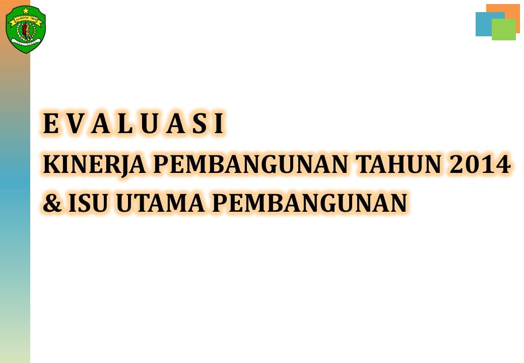 NO INDIKATOR PEMBANGUNAN KONDISI AWAL 2013 PELAKSANAAN RKPD TARGET 2018 2014201520162017 1.PDRB (Rp.