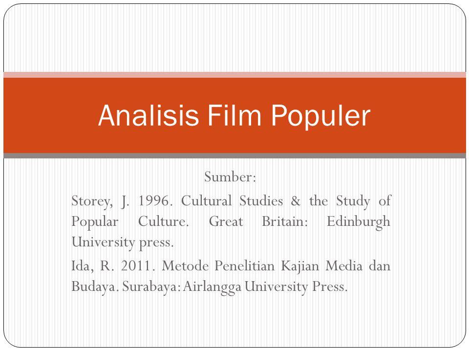 Contoh analisis ideologi film Contoh analisis film menggunakan teori orientalisme: Avatar, The Adventure of Tintin, The Last Samurai, The Mummy, etc.