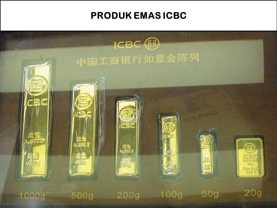 PRODUK EMAS ICBC