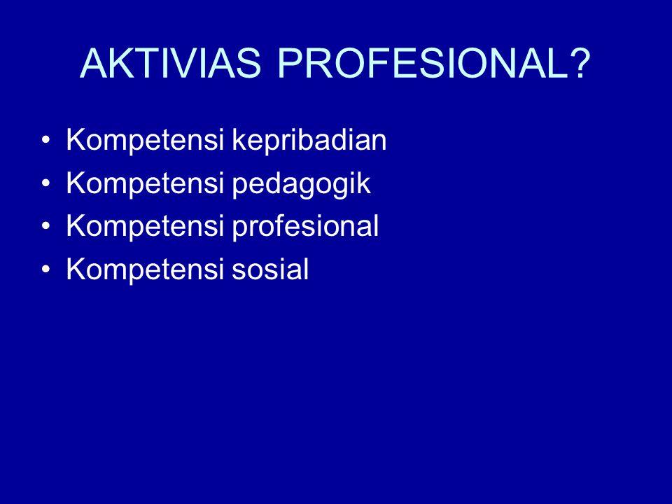 AKTIVIAS PROFESIONAL.