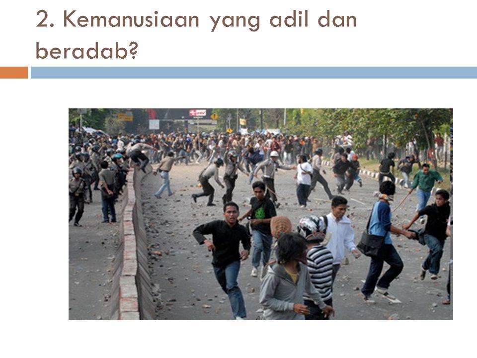 3. Persatuan Indonesia?