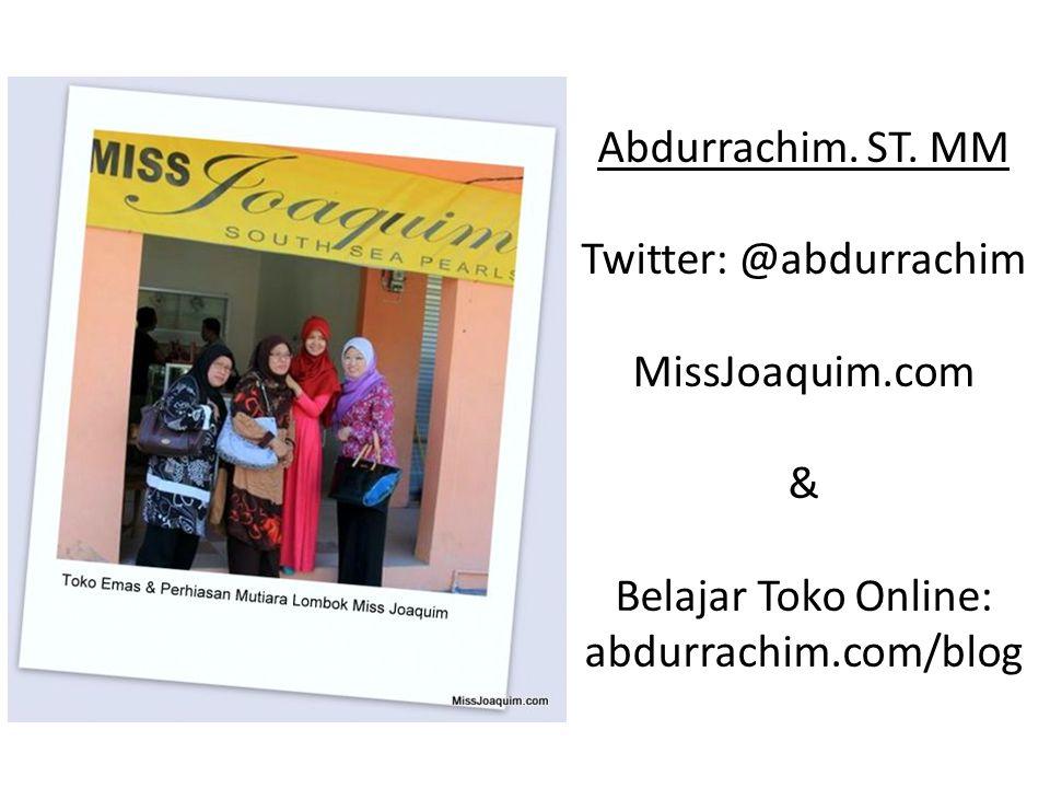 Schedule @ 1 hours : Presentasi Singkat dan Bagi Pengalaman Menjalankan Toko Online Mutiara ( 15 Menit) Tanya Jawab (45 Menit)