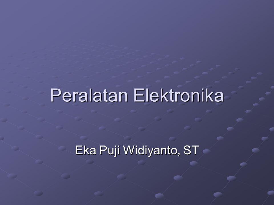 Peralatan Elektronika Eka Puji Widiyanto, ST