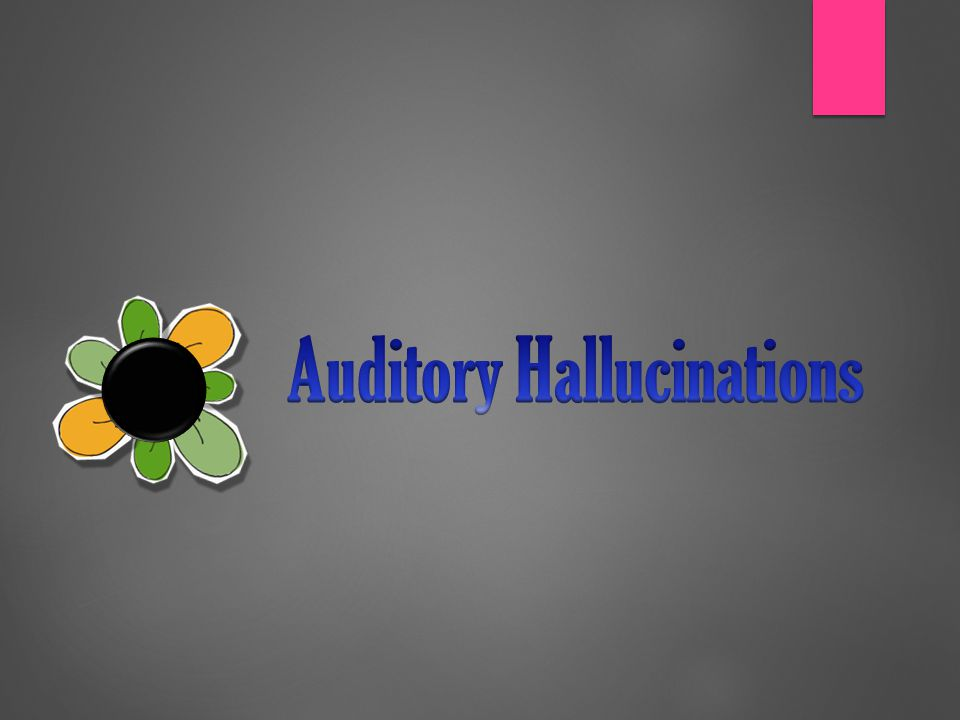 Symptoms  SUBYEKTIF  Ungkapan klien, berupa mendengar suara, bunyi bunyian, atau perintah untuk melakukan sesuatu  OBYEKTIF  Observasi perilaku klien, berupa : klien nampak mengarahkan telinga ke sumber suara, berbicara dan tertawa sendiri, menutup telinga, komat kamit, dll.