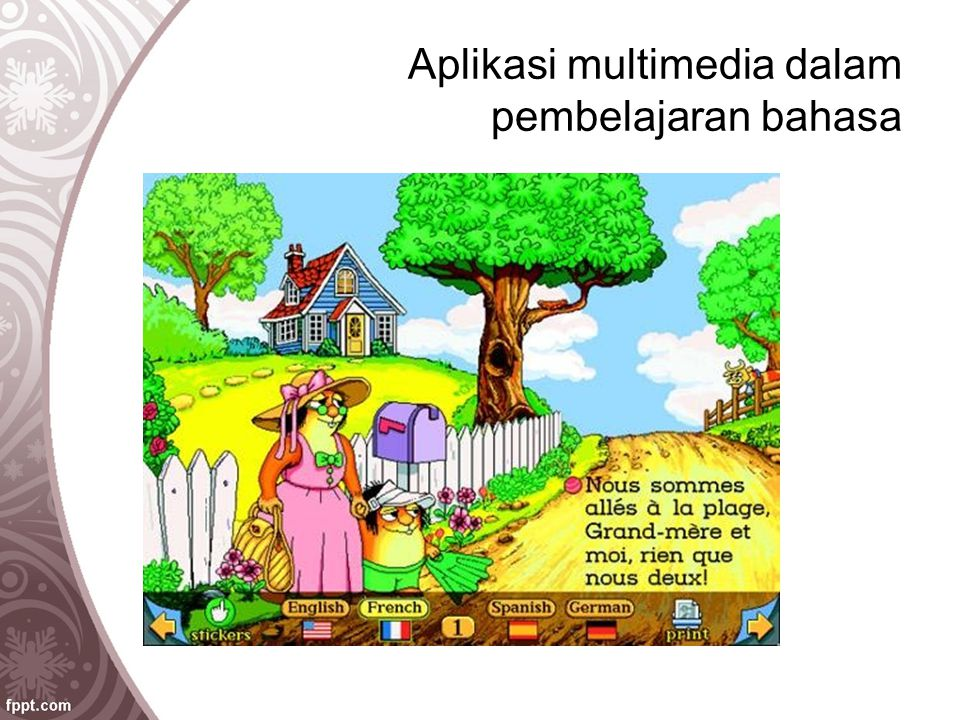 Aplikasi multimedia dalam pembelajaran bahasa