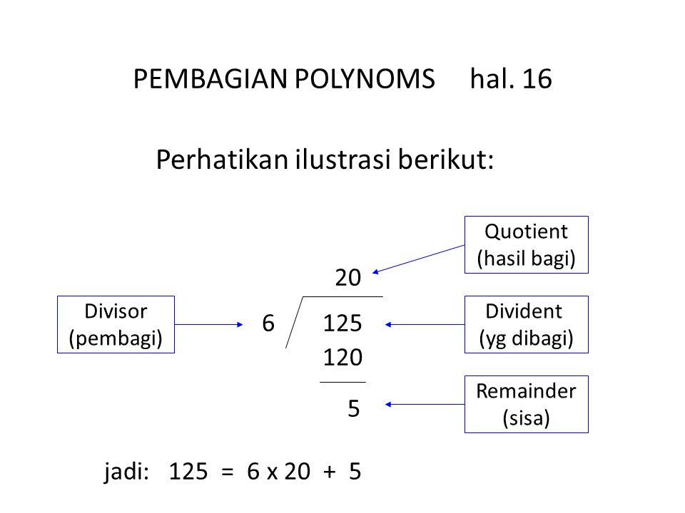 PEMBAGIAN POLYNOMS hal.
