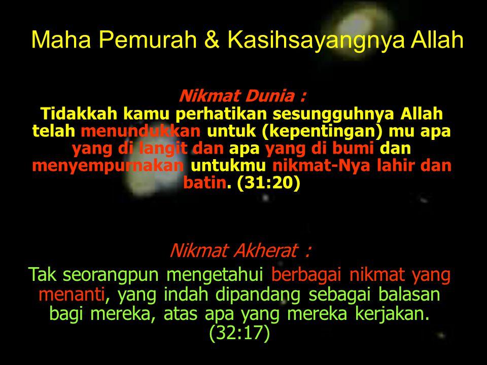 VISI.. Ya Tuhan kami, berilah kami kebaikan di dunia dan kebaikan di akhirat dan peliharalah kami dari siksa neraka .
