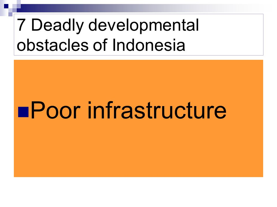 7 Deadly developmental obstacles of Indonesia Currency Volatility