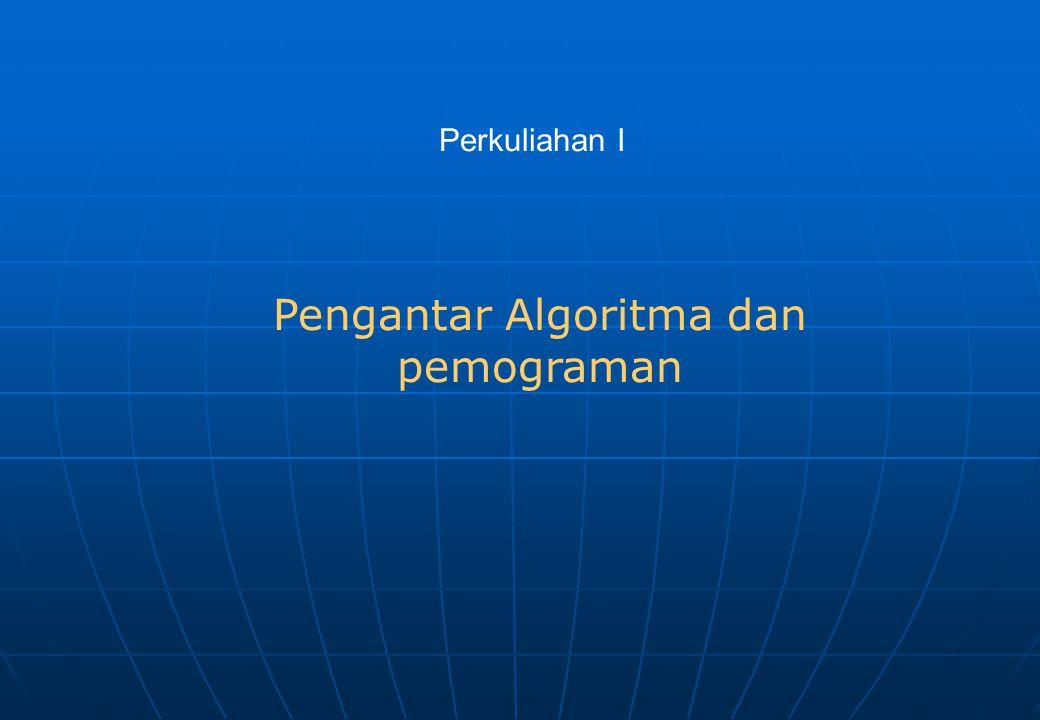 a.Judul Adalah bagian yang terdiri atas nama program dan penjelasan (spesifikasi) tentang program tersebut.