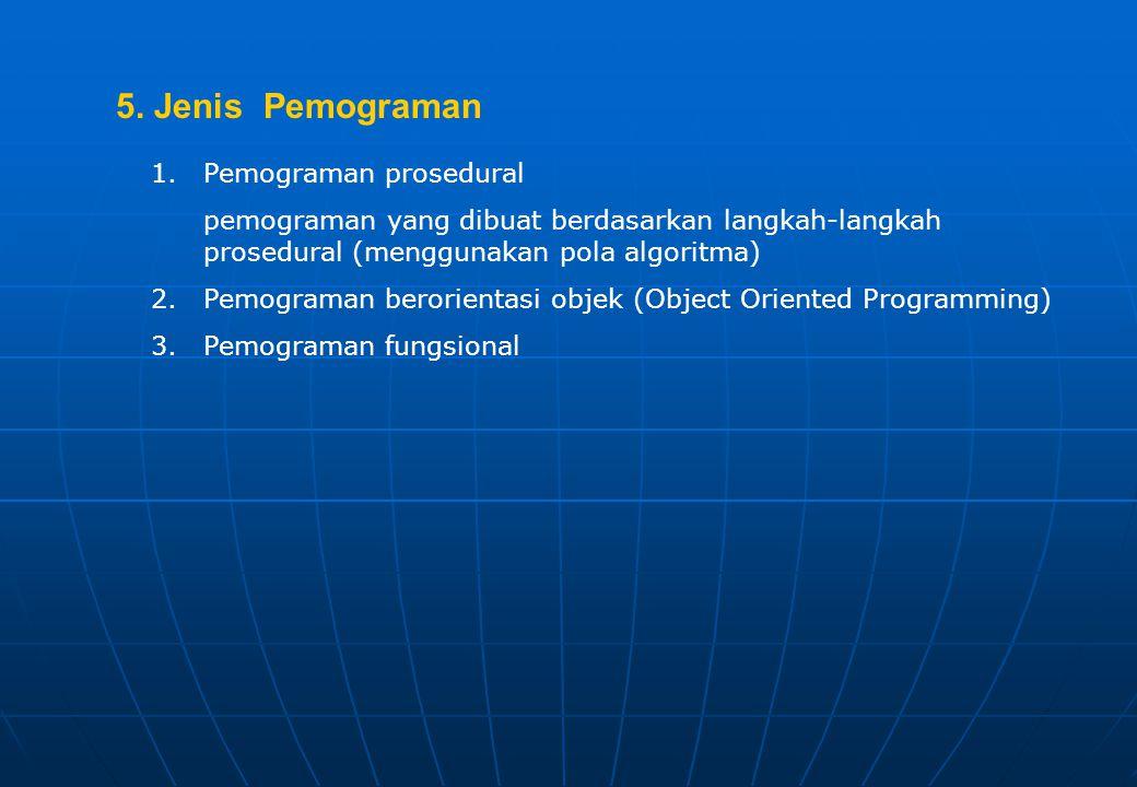 1.Bahasa tingkat rendah (low level programming language) yaitu: bahasa pemograman yang dirancang agar setiap intruksinya langsung dikerjakan oleh komp