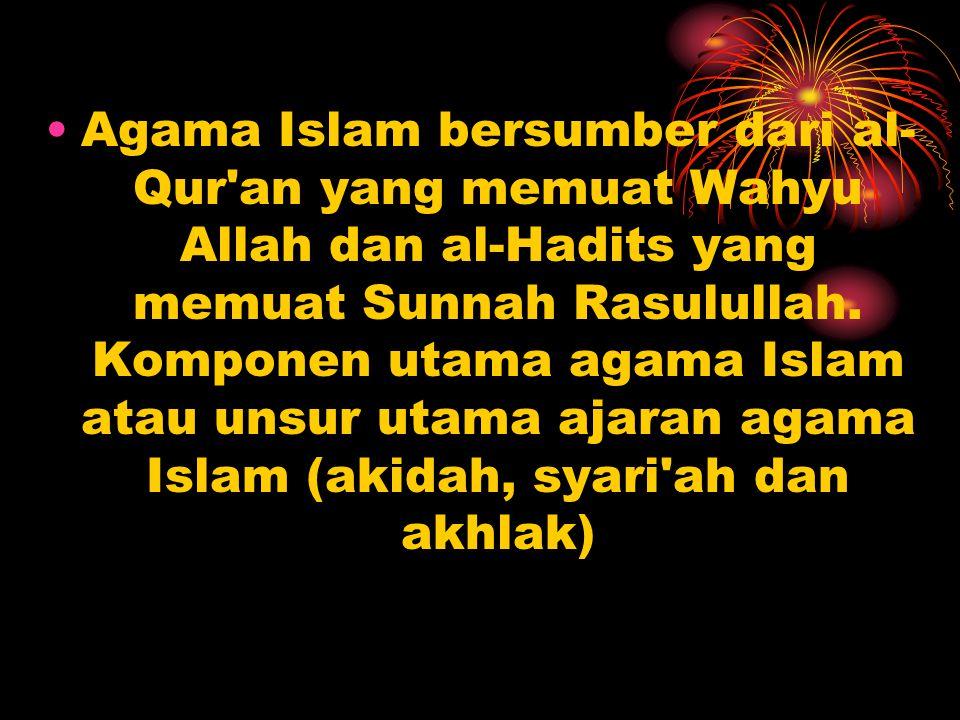 Kedua, sebagai penjelasan isi aI-Qur an.Dengan mengikuti contoh di atas, misalnya mengenai salat.