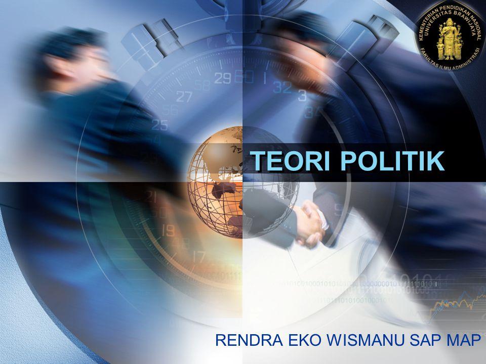 LOGO TEORI POLITIK RENDRA EKO WISMANU SAP MAP