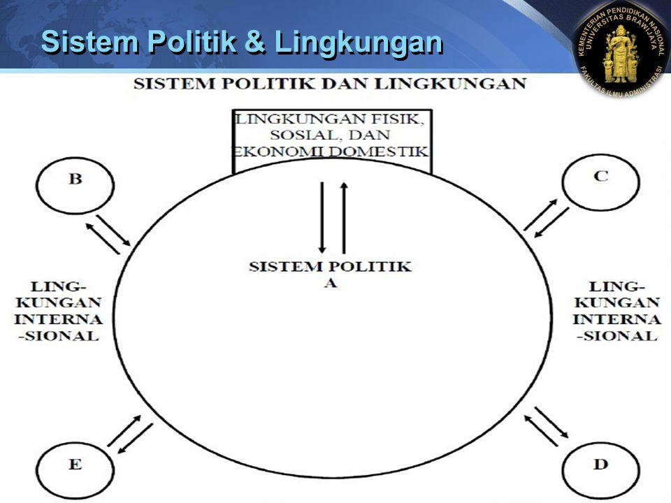 LOGO Sistem Politik & Lingkungan