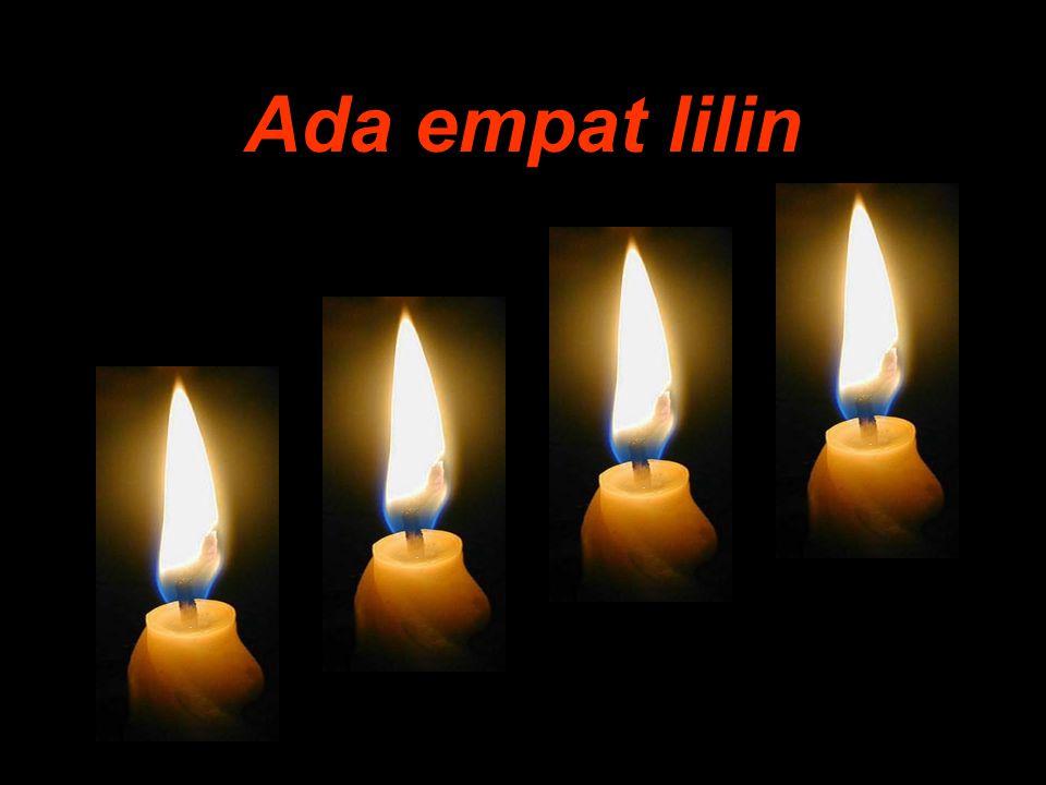 Lalu, menyalakan kembali lilin iman....