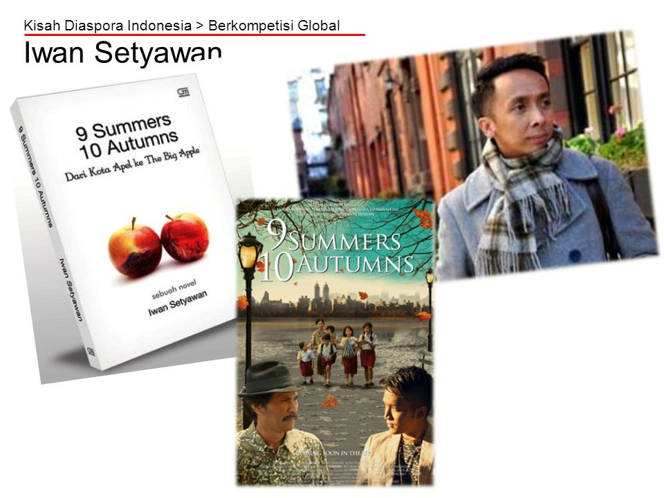 Kisah Diaspora Indonesia > Berkompetisi Global Iwan Setyawan