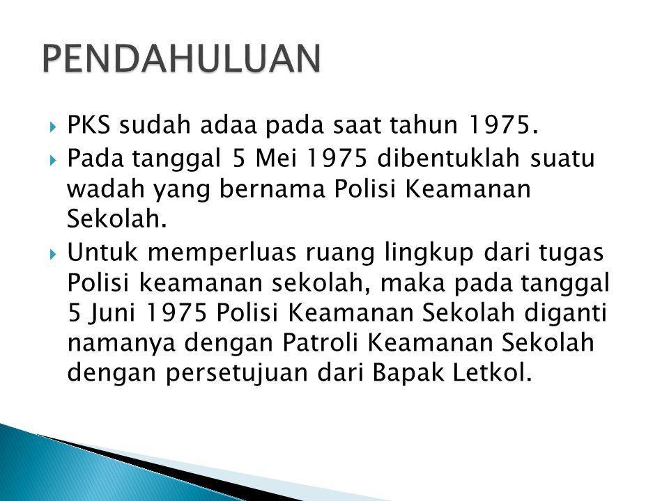  PKS sudah adaa pada saat tahun 1975.