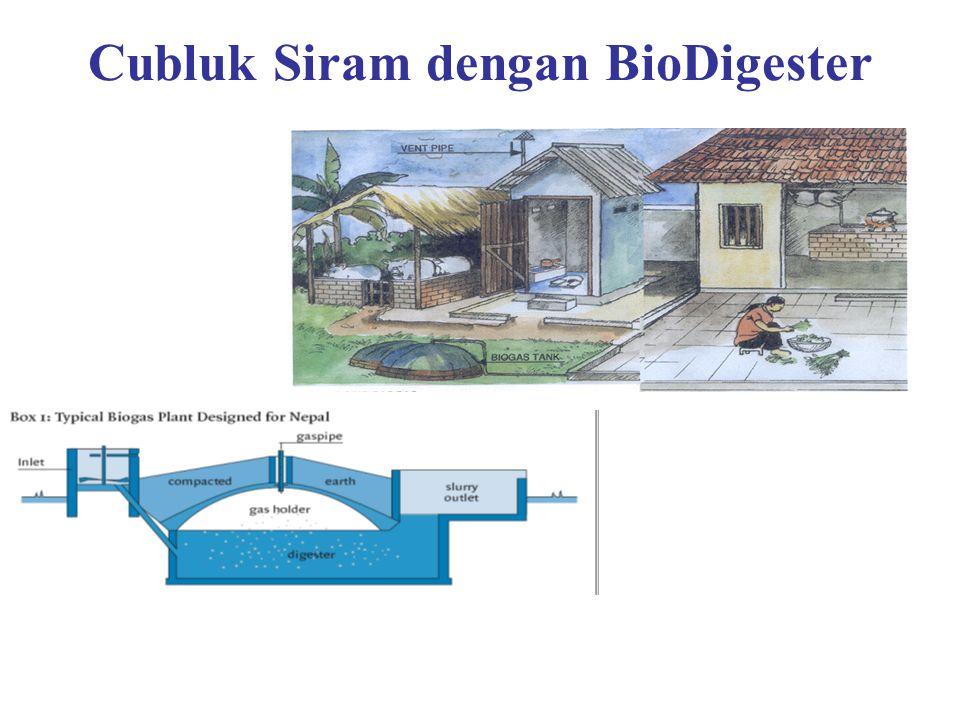 Cubluk Siram dengan BioDigester Ad